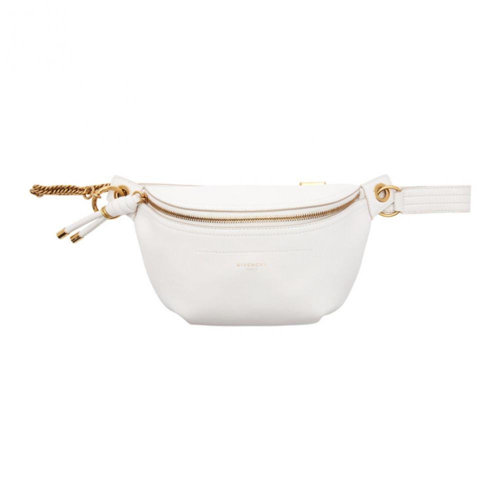 ジバンシー Givenchy レディース バッグ ボディバッグ・ウエストポーチ【White Whip Belt Bag】