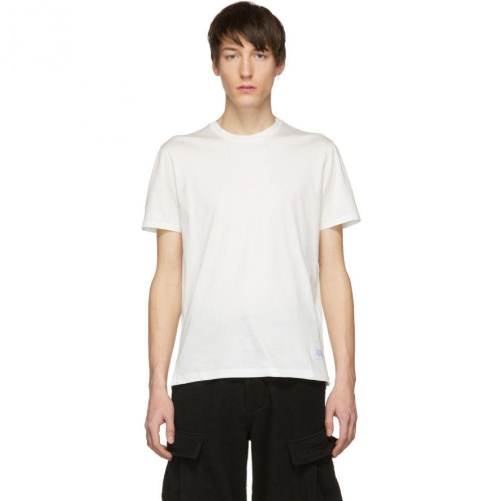 ジバンシー Givenchy メンズ トップス Tシャツ【White Atelier Patch T-Shirt】