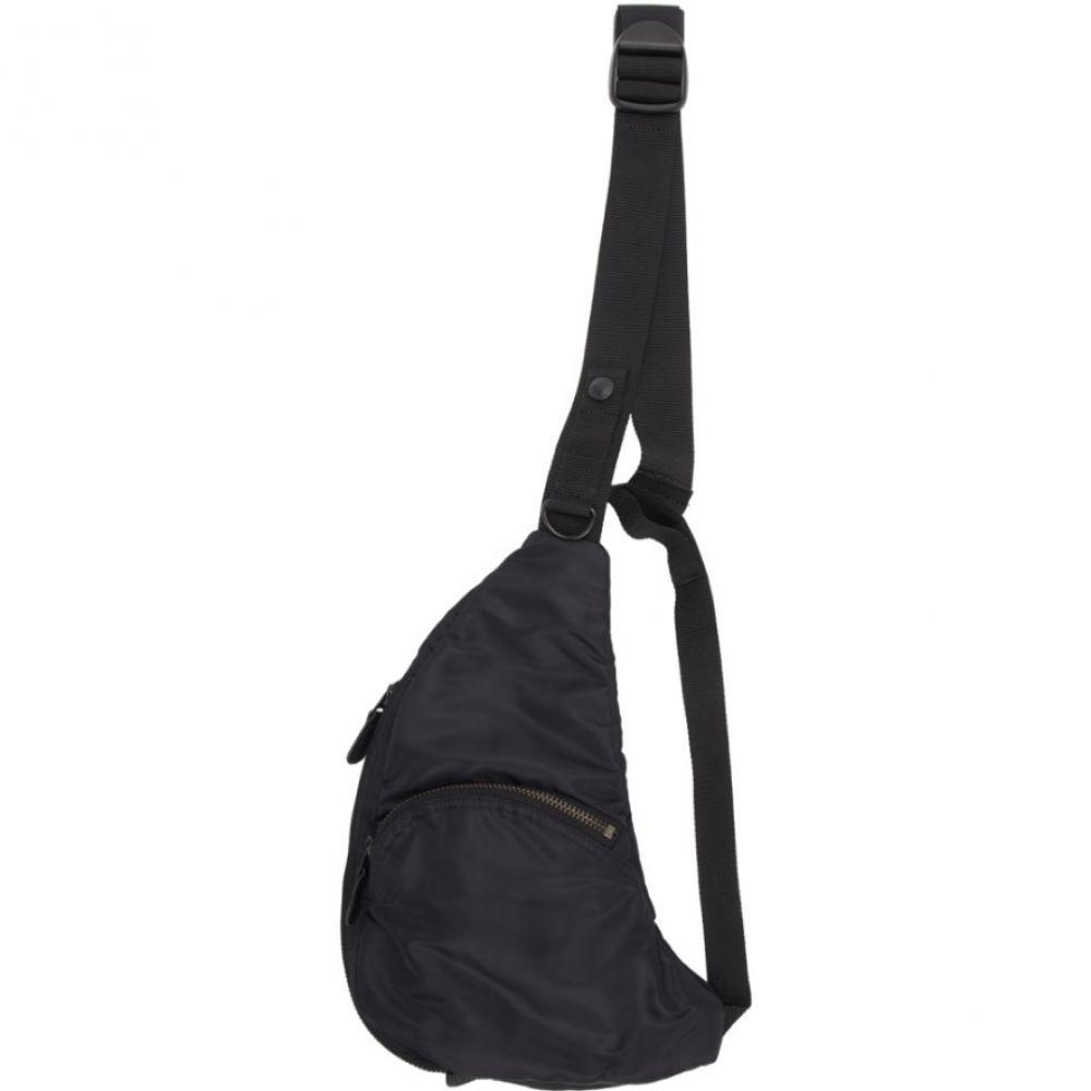 ジュンヤ ワタナベ Junya Watanabe メンズ バッグ メッセンジャーバッグ【Black Harness Messenger Bag】