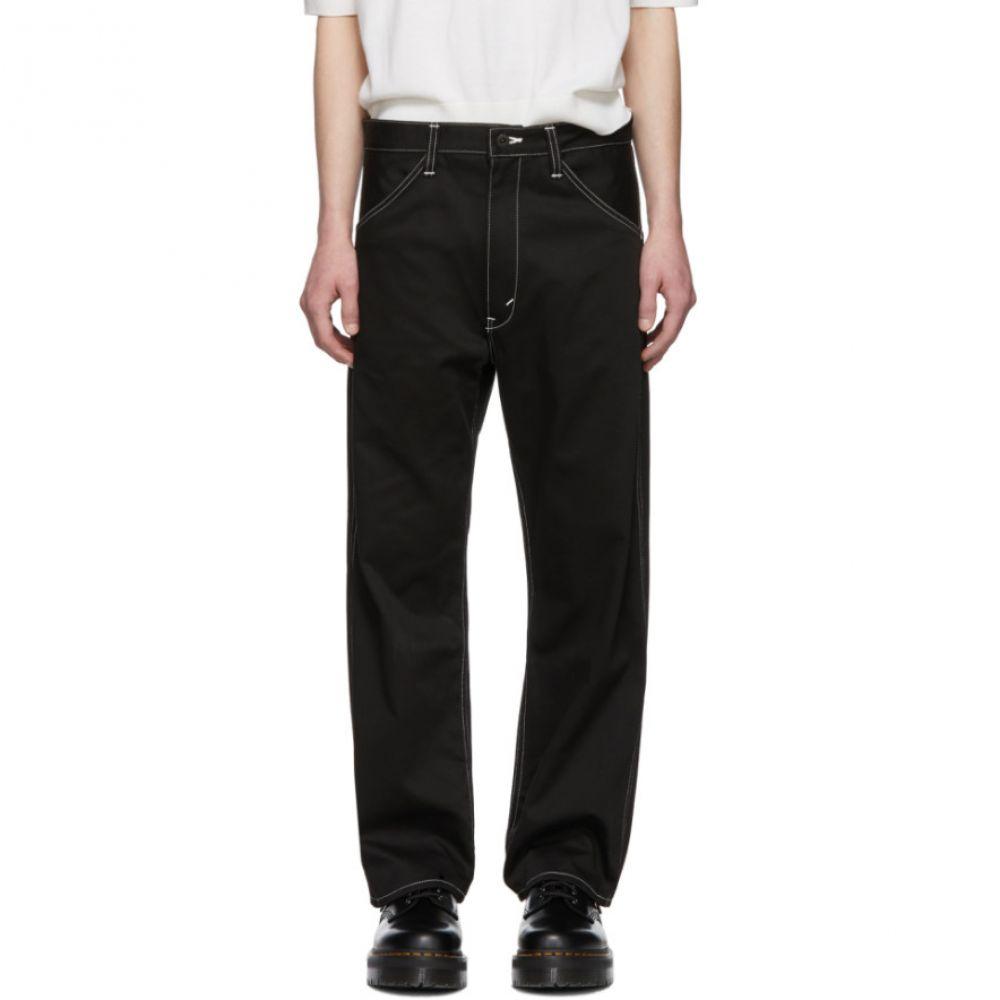 ジュンヤ ワタナベ Junya Watanabe メンズ ボトムス・パンツ【Black Cotton Twill Trousers】
