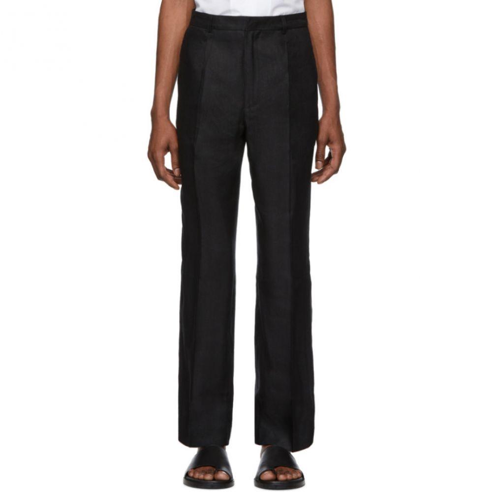 ジャックムス Jacquemus メンズ ボトムス・パンツ【Black 'Le Pantalon Yvan' Trousers】