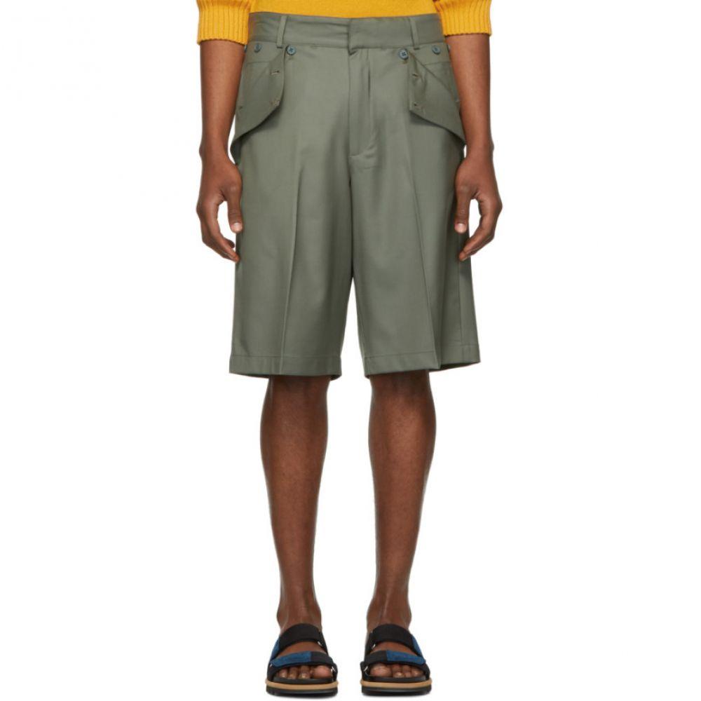 ジャックムス Jacquemus メンズ ボトムス・パンツ ショートパンツ【Green 'Le Short Marin' Shorts】