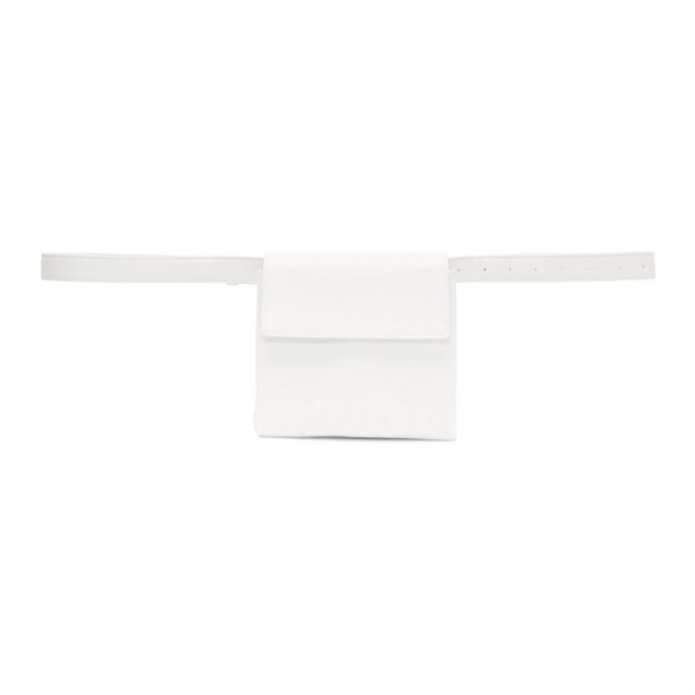 ジル サンダー Jil Sander レディース バッグ ボディバッグ・ウエストポーチ【White Mini Belt Pouch】