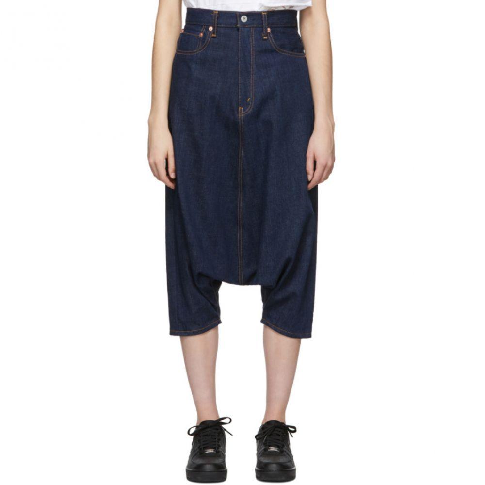 ジュンヤ ワタナベ Junya Watanabe レディース ボトムス・パンツ ジーンズ・デニム【Indigo Selvedge Drop Crotch Jeans】