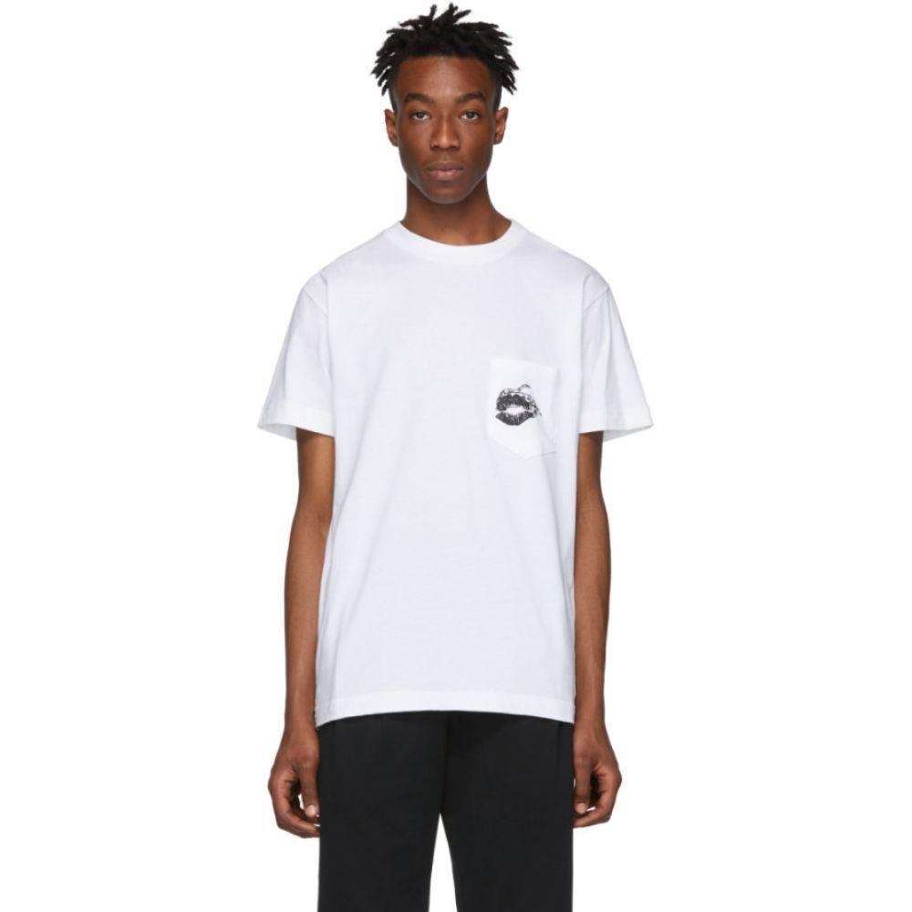 ダイエットブッチャースリムスキン Diet Butcher Slim Skin メンズ トップス Tシャツ【White Wonderful Fruit T-Shirt】