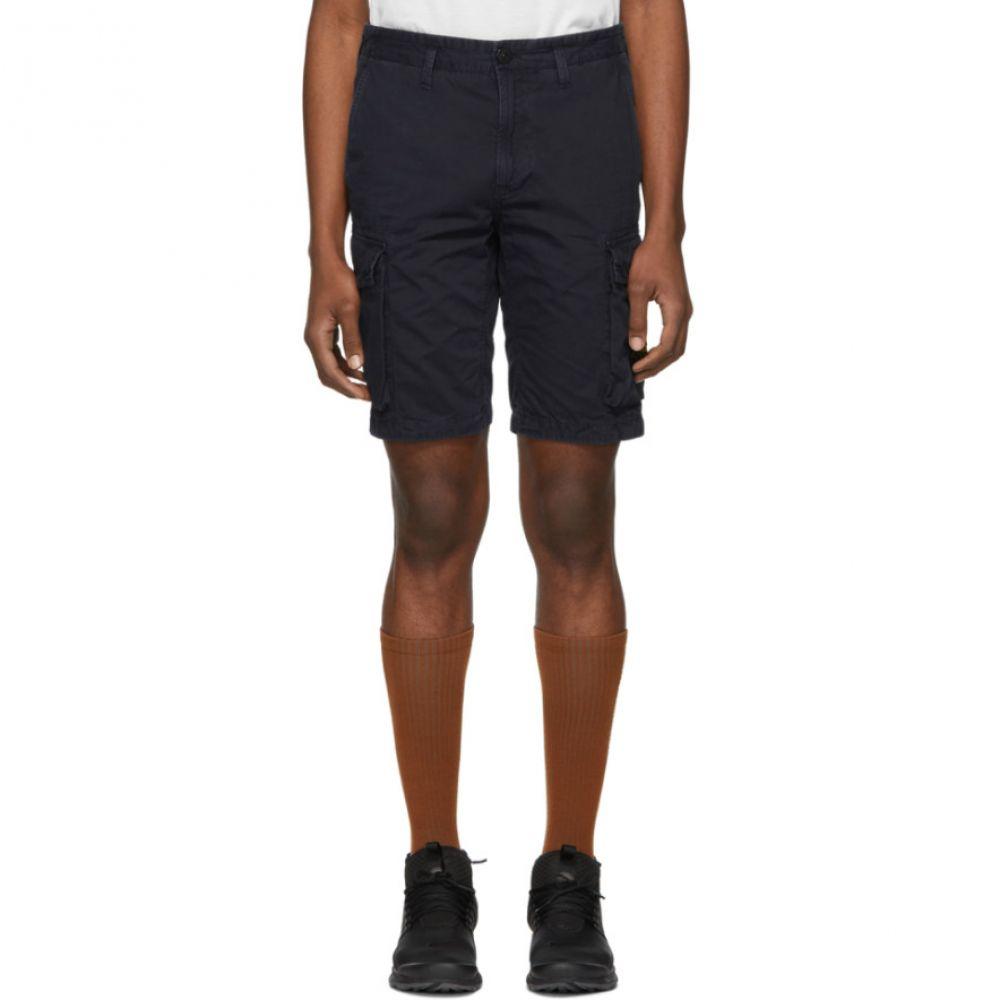 ストーンアイランド Stone Island メンズ ボトムス・パンツ ショートパンツ【Blue Bermuda Shorts】