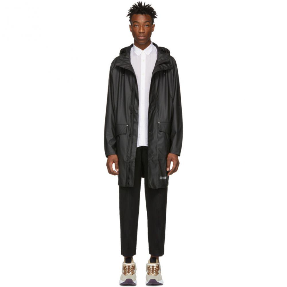 ストゥッテルハイム Stutterheim メンズ アウター レインコート【Black Ekeby Lightweight Raincoat】