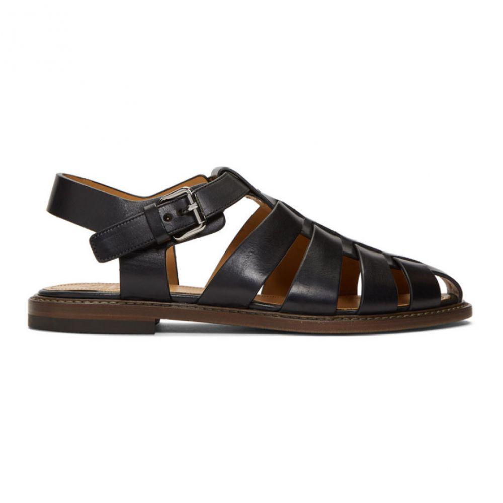 チャーチ シューズ・靴 Church's メンズ Sandals】 シューズ・靴 サンダル【Black Barney Sandals メンズ】, スサミ町:2c786051 --- sunward.msk.ru