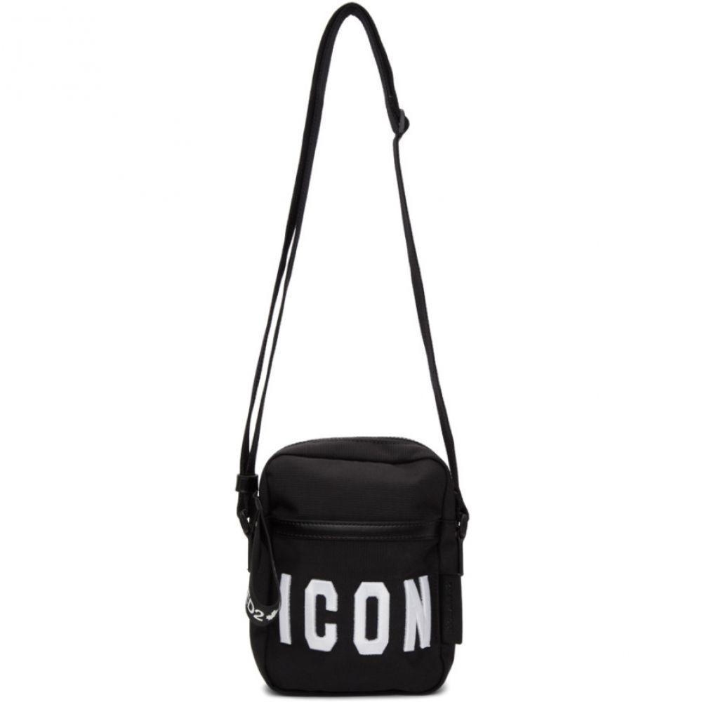 ディースクエアード Dsquared2 メンズ バッグ メッセンジャーバッグ【Black & White Crossbody Bag】