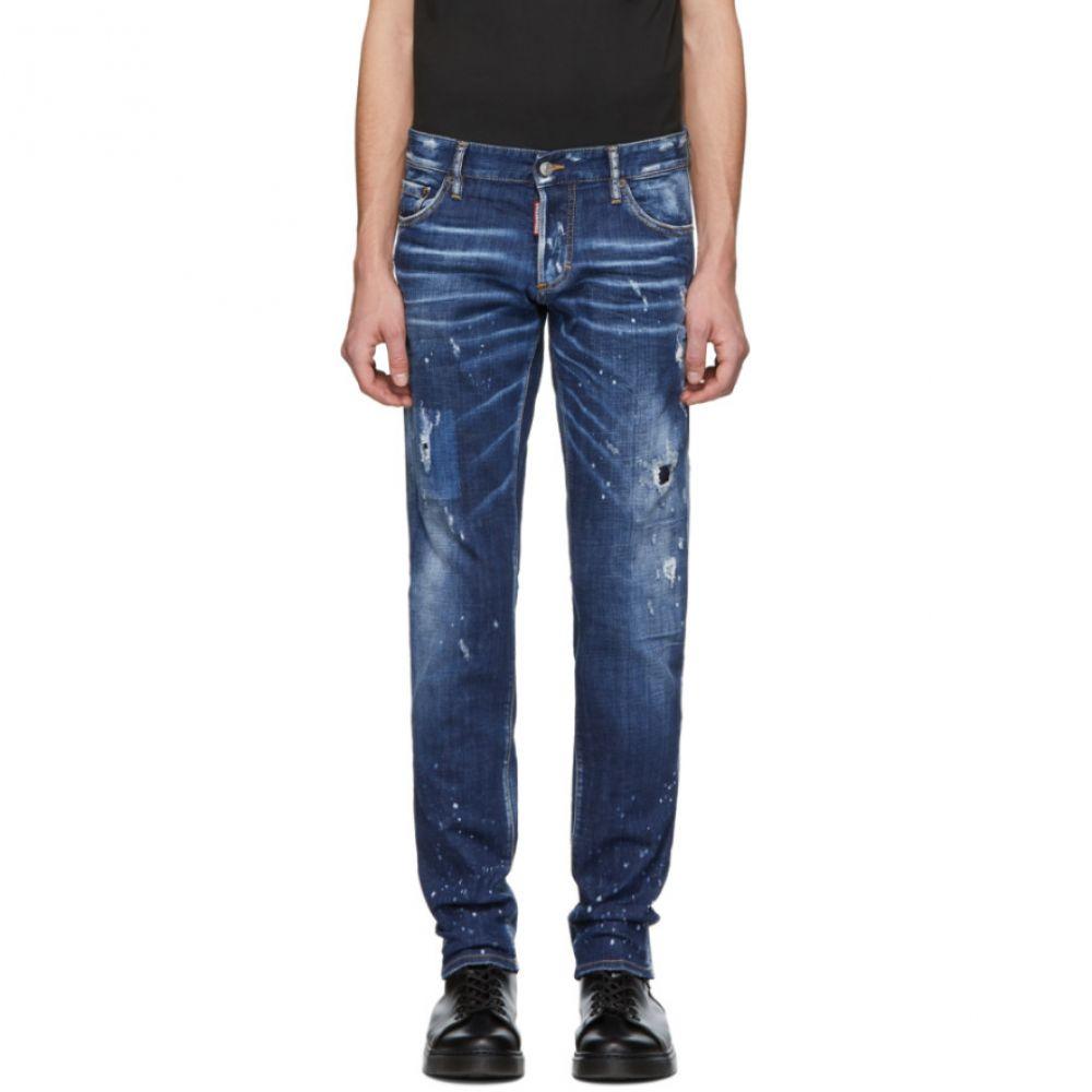 ディースクエアード Dsquared2 メンズ ボトムス・パンツ ジーンズ・デニム【Blue Perfection Wash Slim Jeans】