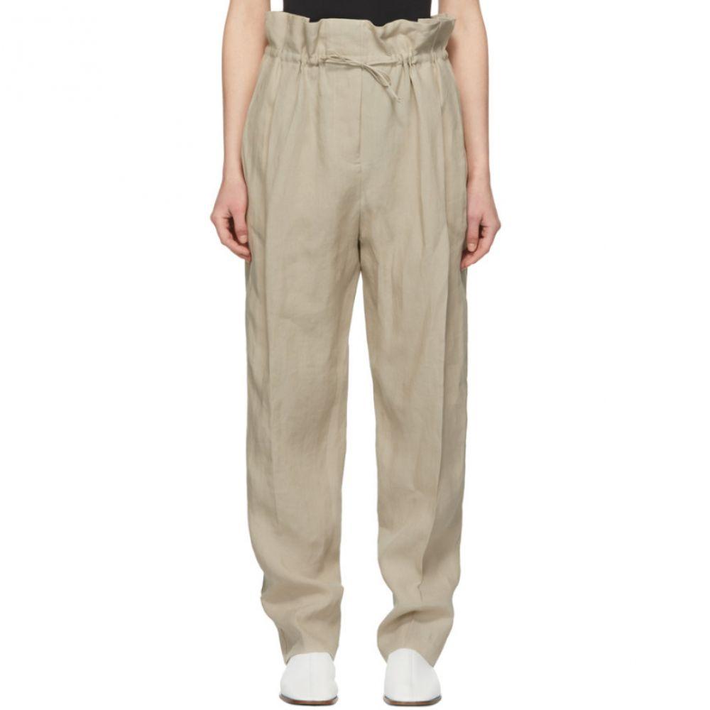 アクネ ストゥディオズ Acne Studios レディース ボトムス・パンツ【Beige Linen Paoli Trousers】
