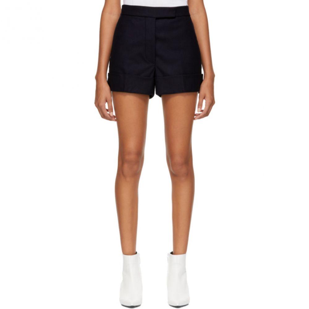 トム ブラウン Thom Browne レディース ボトムス・パンツ ショートパンツ【Navy Backstrap Mini Shorts】