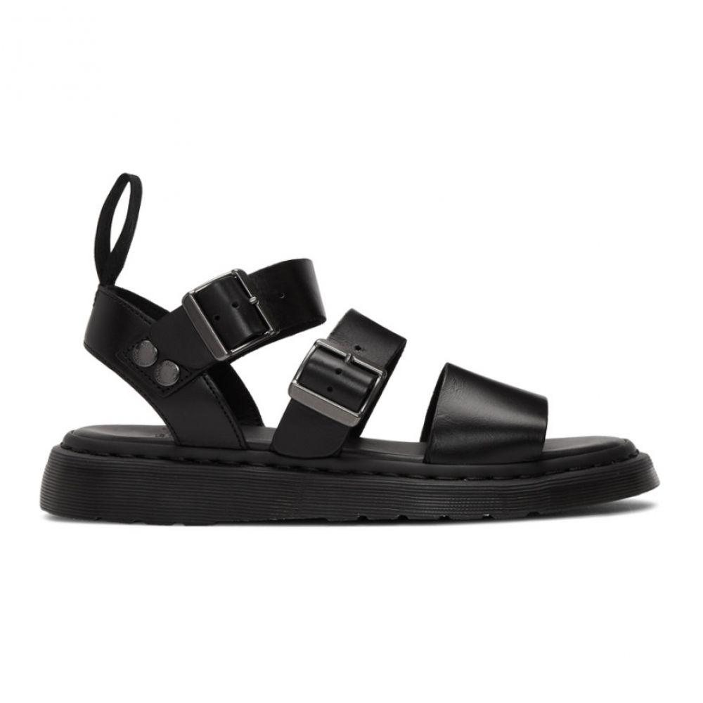 ドクターマーチン Dr. Martens Gryphon Sandals】 メンズ シューズ・靴 Dr. サンダル【Black Gryphon Sandals】, シバカワチョウ:8f77cd59 --- sunward.msk.ru