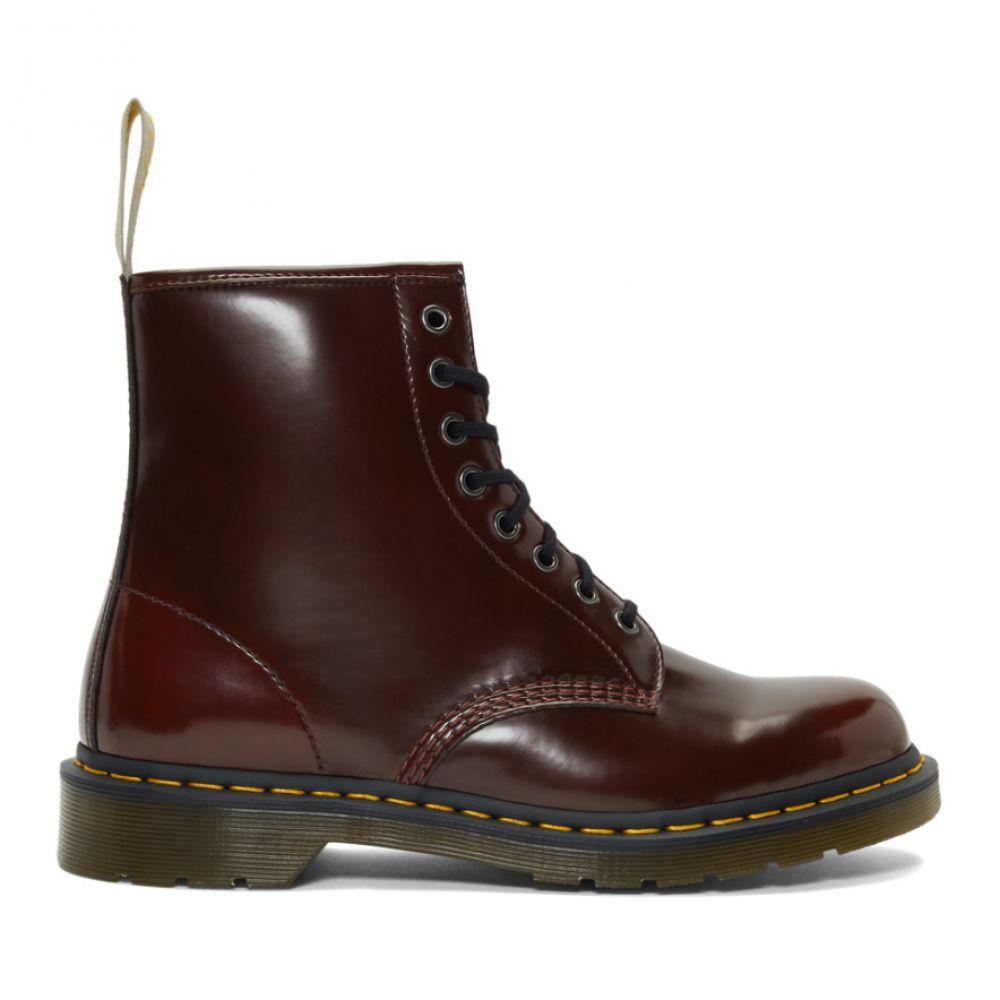 ドクターマーチン Dr. Martens メンズ シューズ・靴 ブーツ【Burgundy Vegan 1460 Boots】