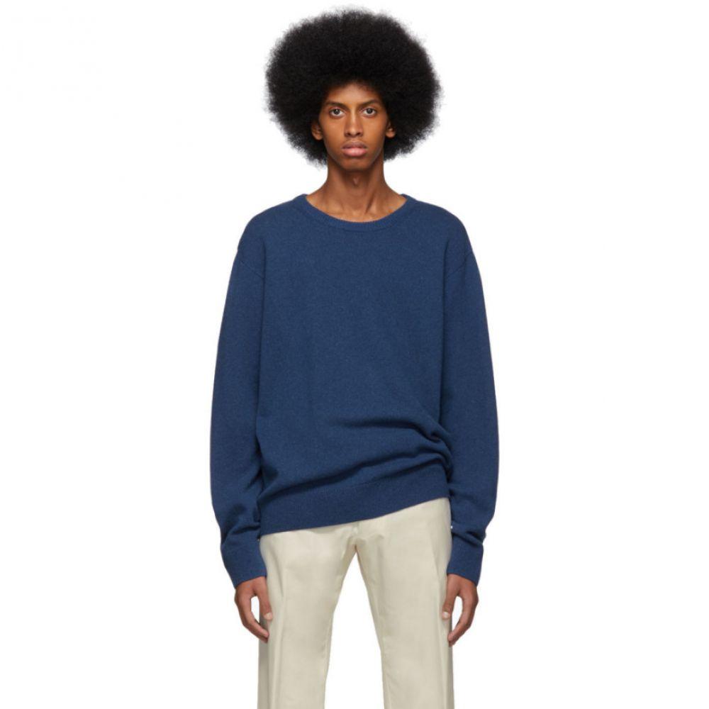 ドリス ヴァン ノッテン Dries Van Noten メンズ トップス【Blue Naples Sweater】