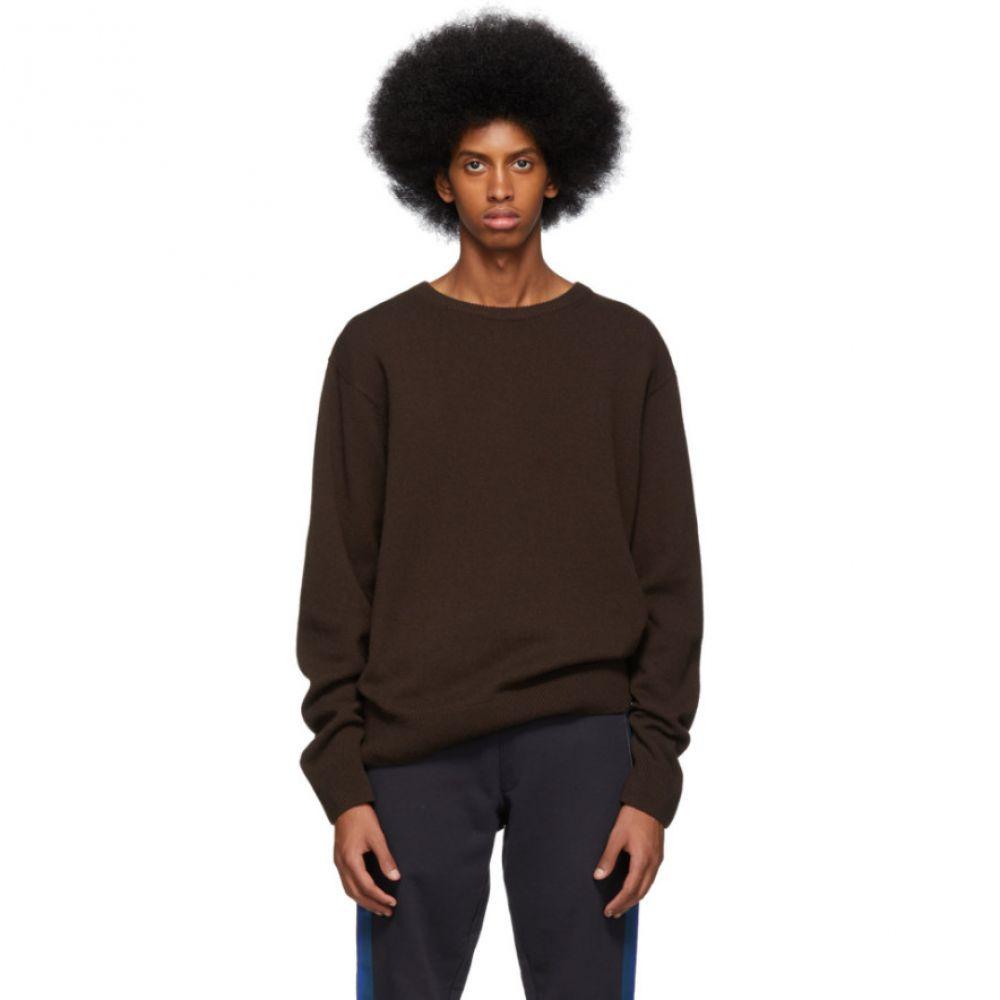ドリス ヴァン ノッテン Dries Van Noten メンズ トップス【Brown Naples Sweater】