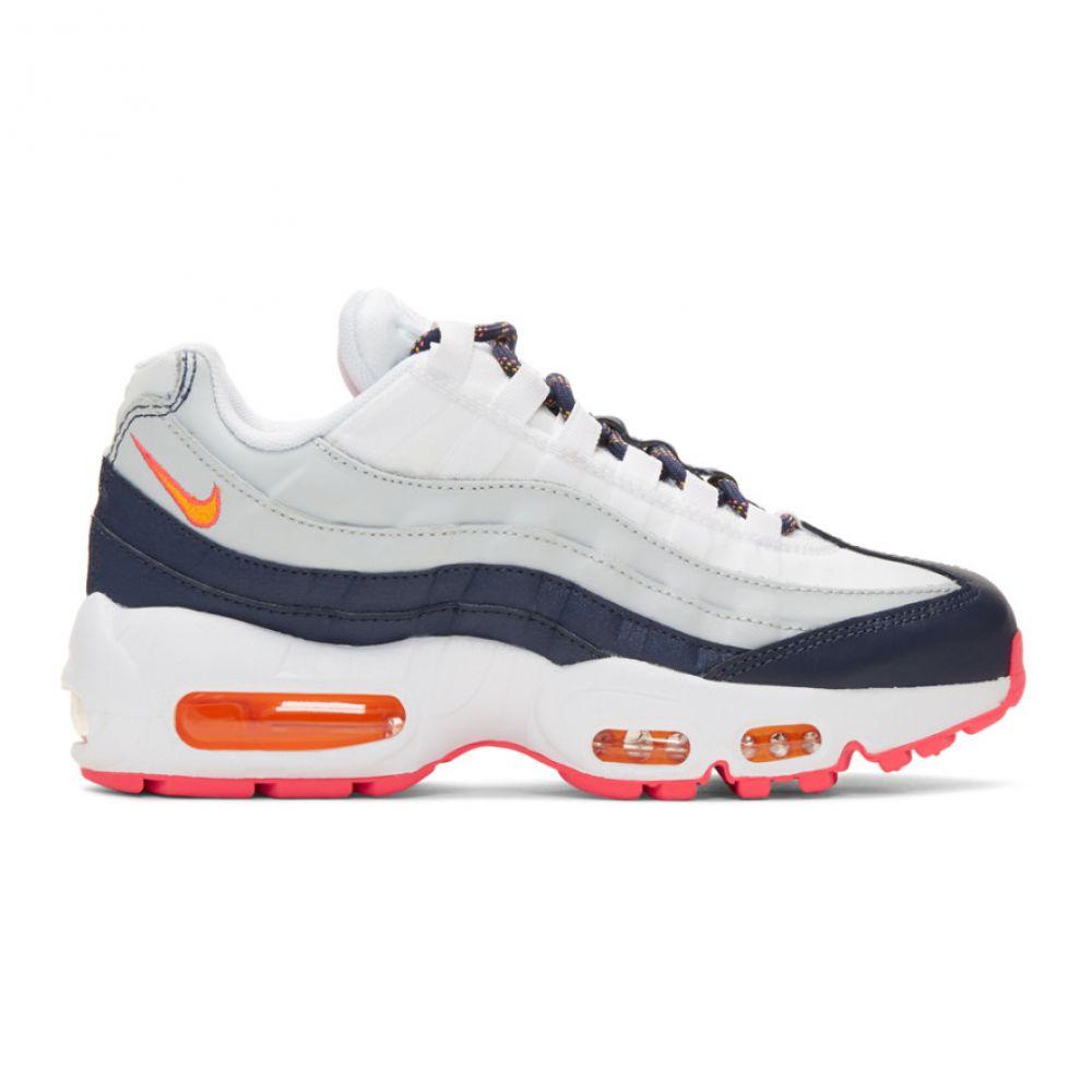 ナイキ Nike レディース シューズ・靴 スニーカー【White Air Max 95 Sneakers】