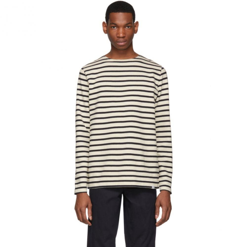 ノースプロジェクト Norse Projects メンズ トップス 長袖Tシャツ【Off-White Godtfred Classic Compact Long Sleeve T-Shirt】