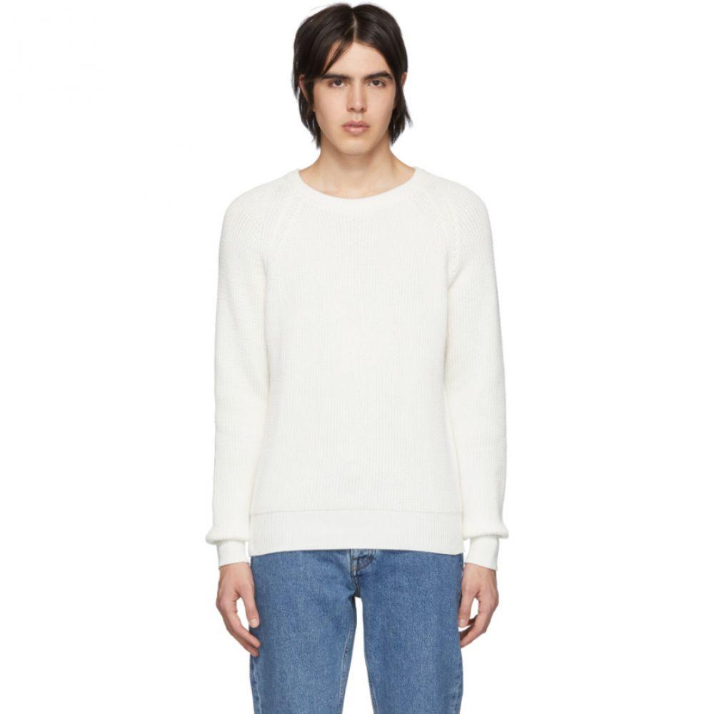 ハーモニー Harmony メンズ トップス【White Wade Sweater】