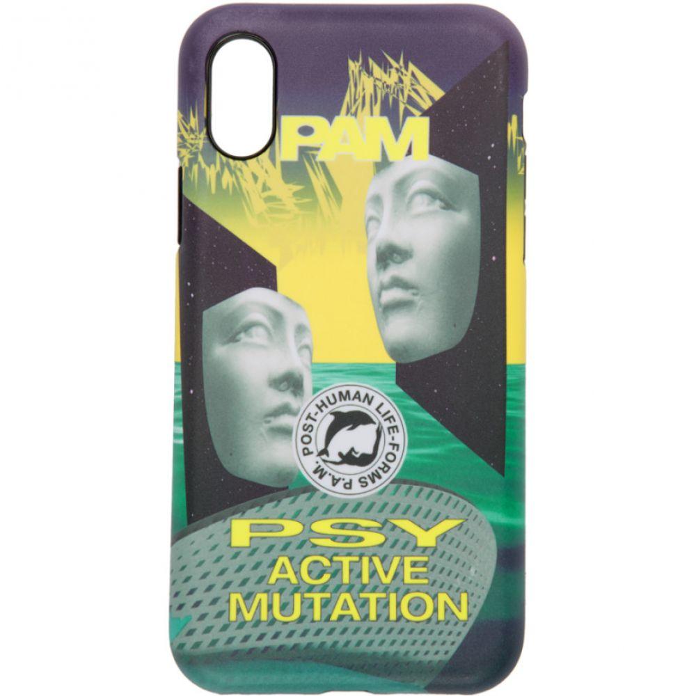 パークスアンドミニ Perks and Mini メンズ iPhone (X)ケース【Multicolor 'Post-Human' iPhone X Case】