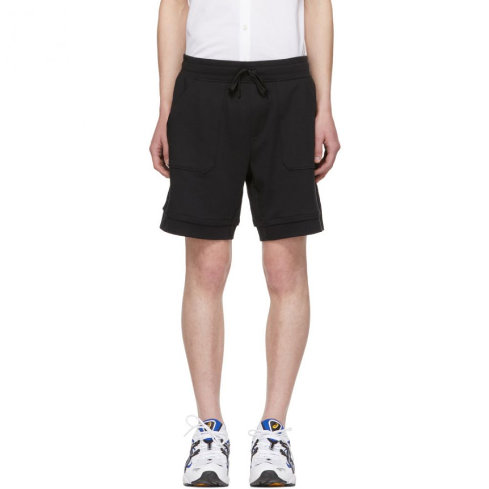 ヒューゴ ボス Boss メンズ ボトムス・パンツ ショートパンツ【Black Panelled Shorts】
