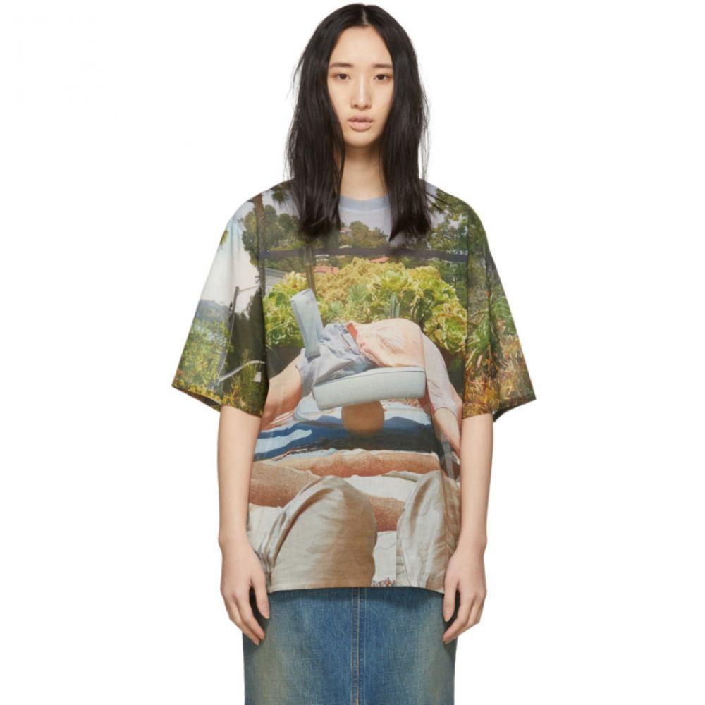 ブレス Bless レディース トップス Tシャツ【Multicolor Holidayrooftop T-Shirt】