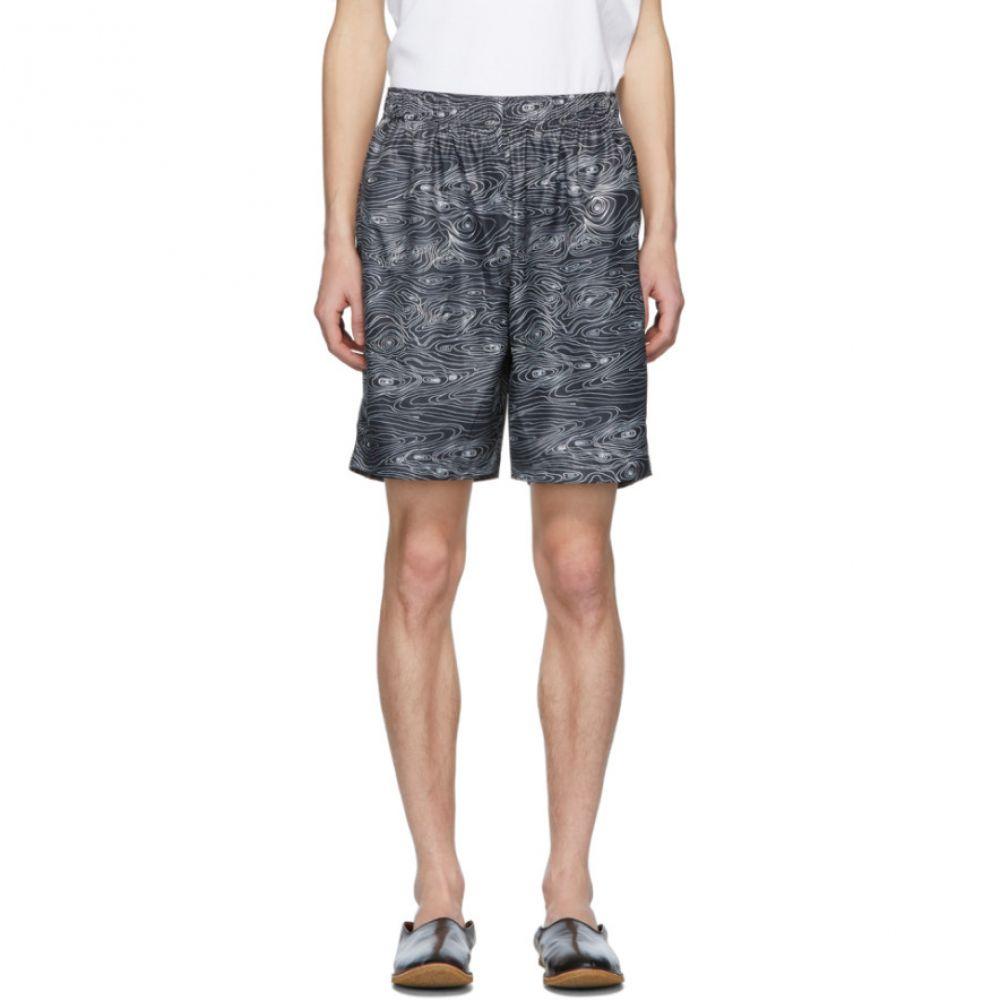 ブレス Bless Bless メンズ Shorts】 ボトムス・パンツ ショートパンツ【Black Woodgrain ブレス Sport Shorts】, アールワイレンタル:137089c7 --- sunward.msk.ru