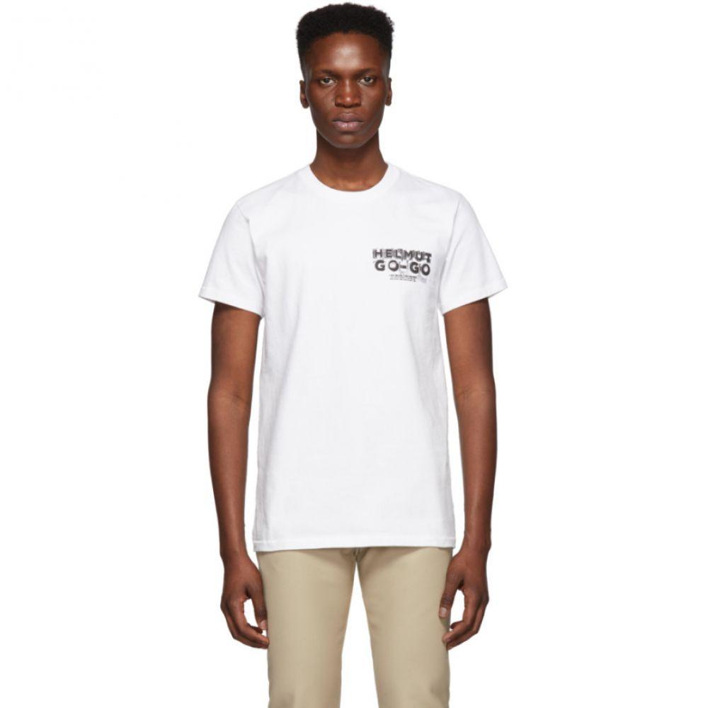 ヘルムート ラング Helmut Lang メンズ トップス Tシャツ【White Logo Hack Little T-Shirt】