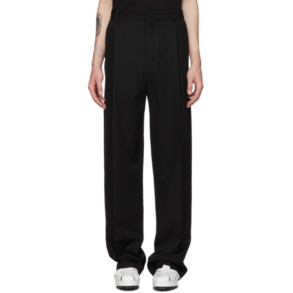 ボッター Botter メンズ ボトムス・パンツ スラックス【Black Wool Classical Trousers】