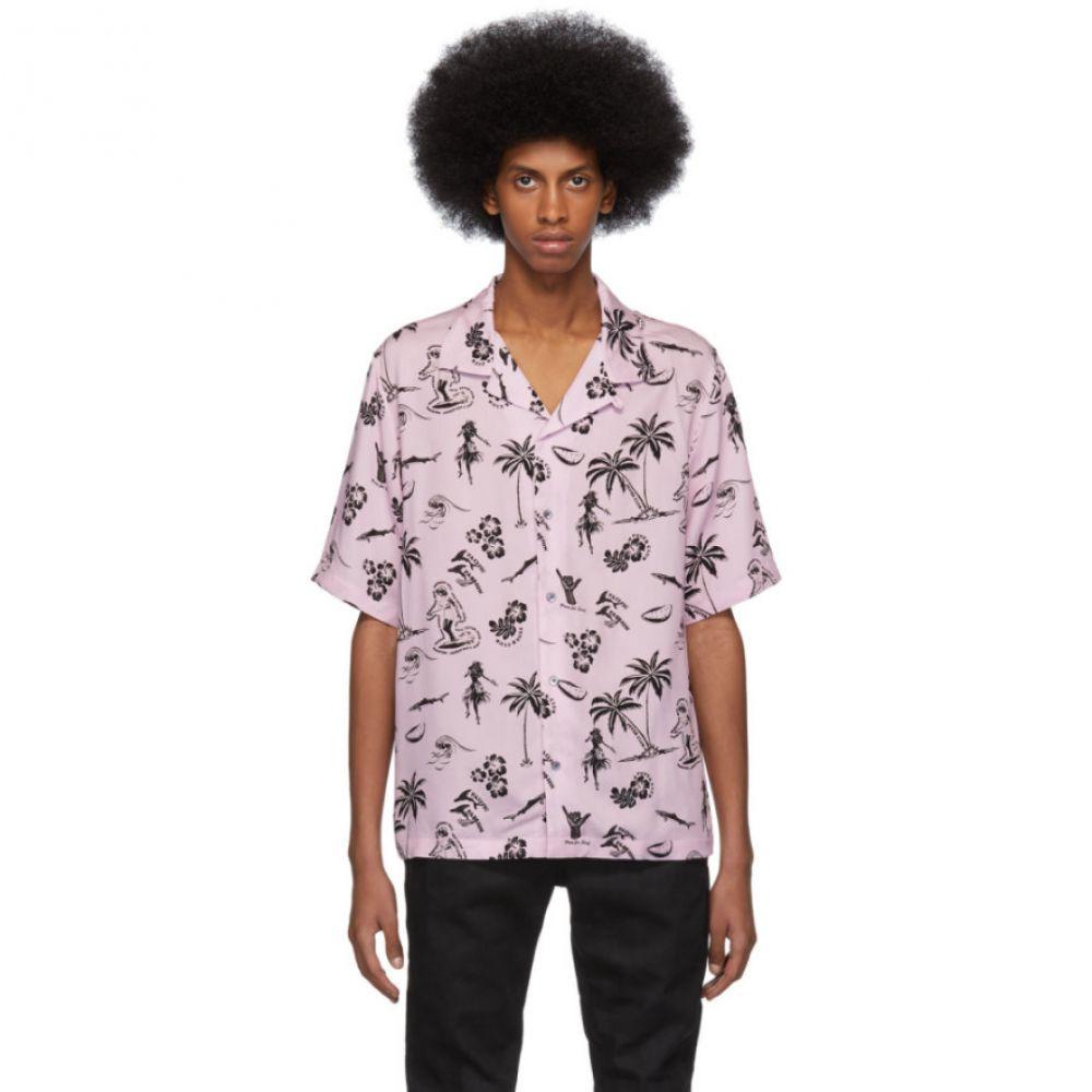 アレキサンダー マックイーン McQ Alexander McQueen メンズ トップス シャツ【Pink Palm Tree Billy Shirt】