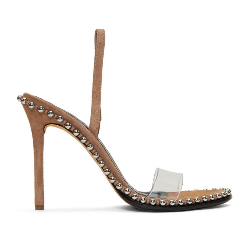 アレキサンダー ワン Alexander Wang レディース シューズ・靴 サンダル・ミュール【Tan Suede Nova Sandals】