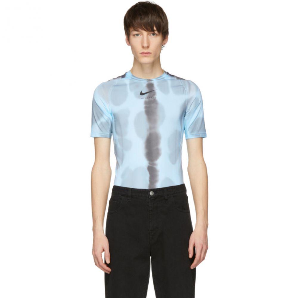 アリクス 1017 Alyx 9SM メンズ トップス Tシャツ【Blue Nike Edition Camouflage Logo Sponge T-Shirt】