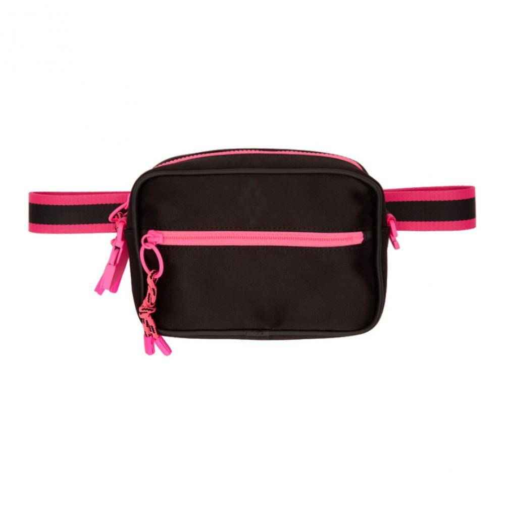 マルセロバーロン Marcelo Burlon County of Milan レディース バッグ【Black & Pink Cross Bag】
