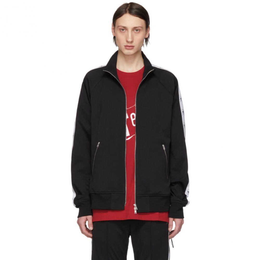 マスターマインド mastermind WORLD メンズ トップス【Black Tape Zip-Up Sweater】
