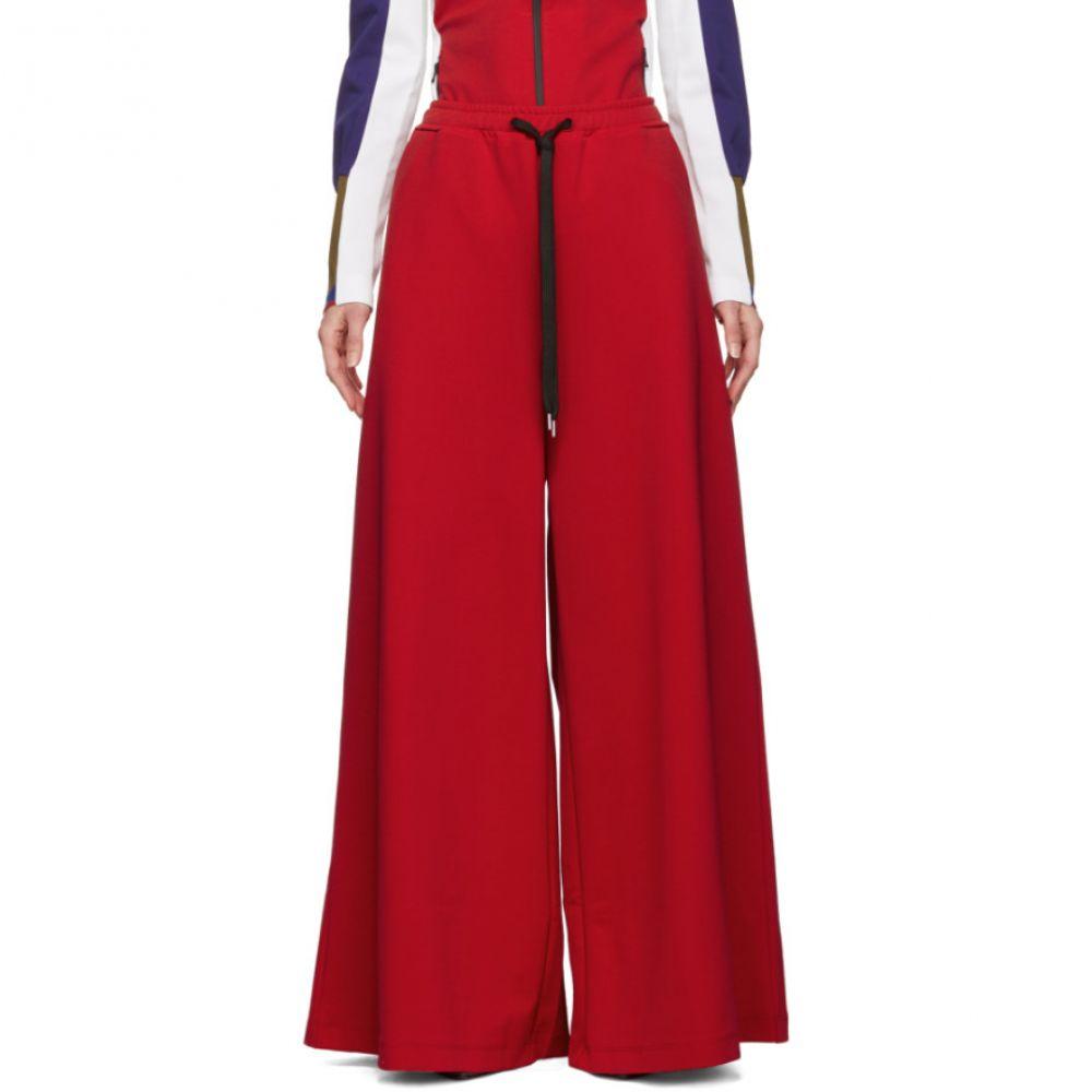 マルニ Marni レディース ボトムス・パンツ【Red Oversized Trousers】