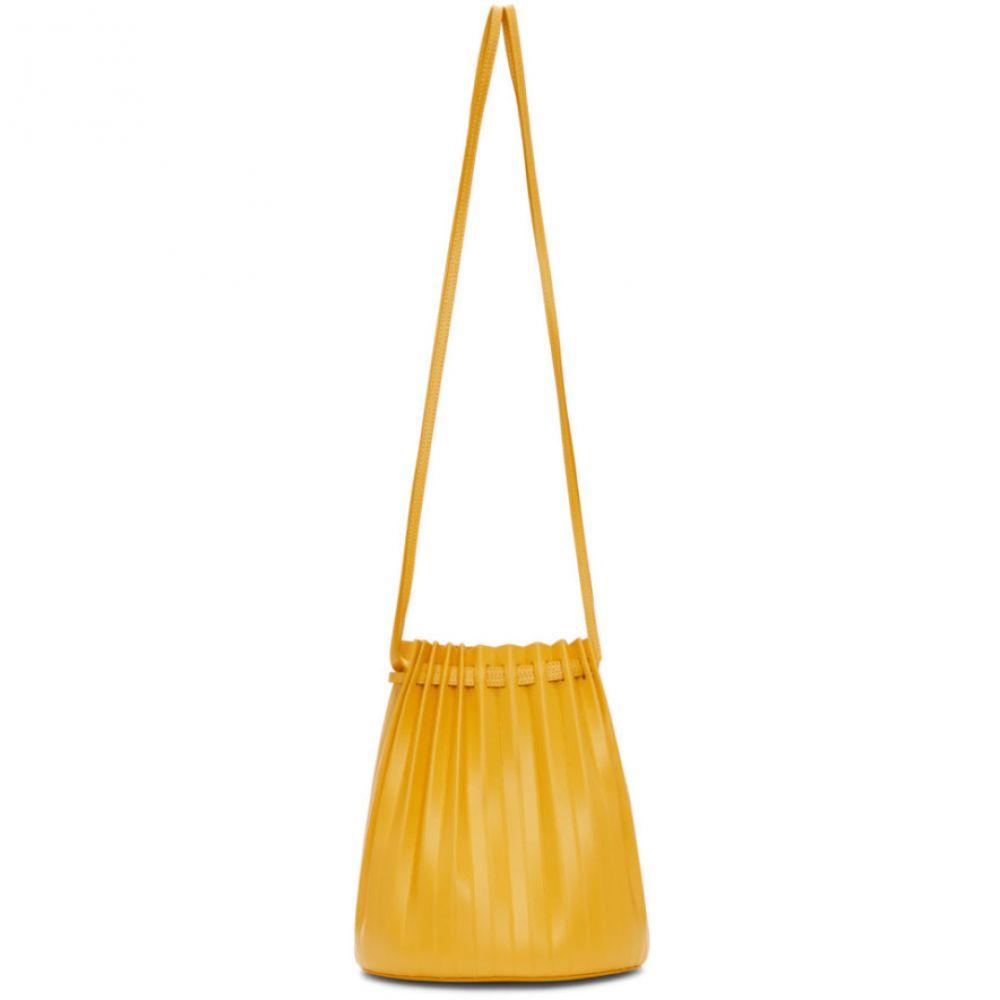 マンサーガブリエル Mansur Bucket Gavriel レディース バッグ ハンドバッグ【Yellow Pleated Bag】 Pleated Bucket Bag】, SPARK:5a9c9b87 --- sunward.msk.ru