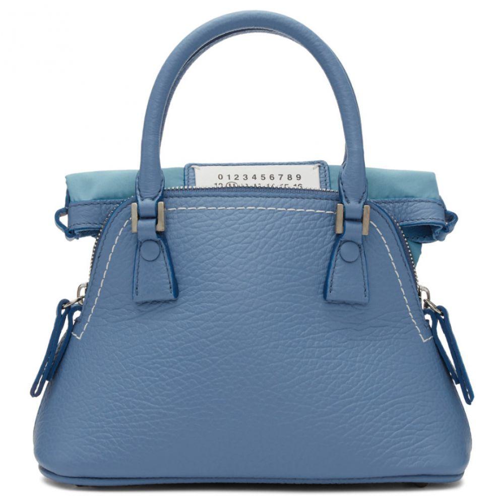 メゾン マルジェラ バッグ Maison レディース Margiela レディース バッグ マルジェラ ハンドバッグ【Blue Small 5AC Bag】, 板野町:6a1f5d97 --- sunward.msk.ru