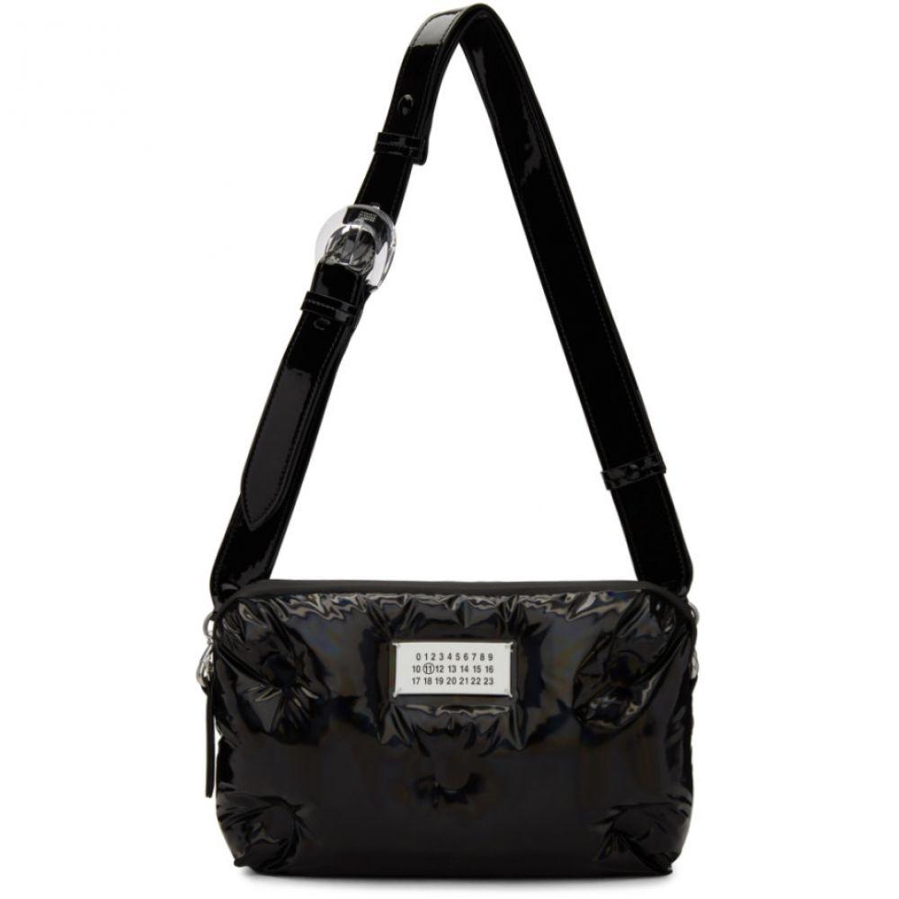 メゾン マルジェラ Maison Margiela レディース バッグ【Black Small Reflective Patent Glam Slam Bag】
