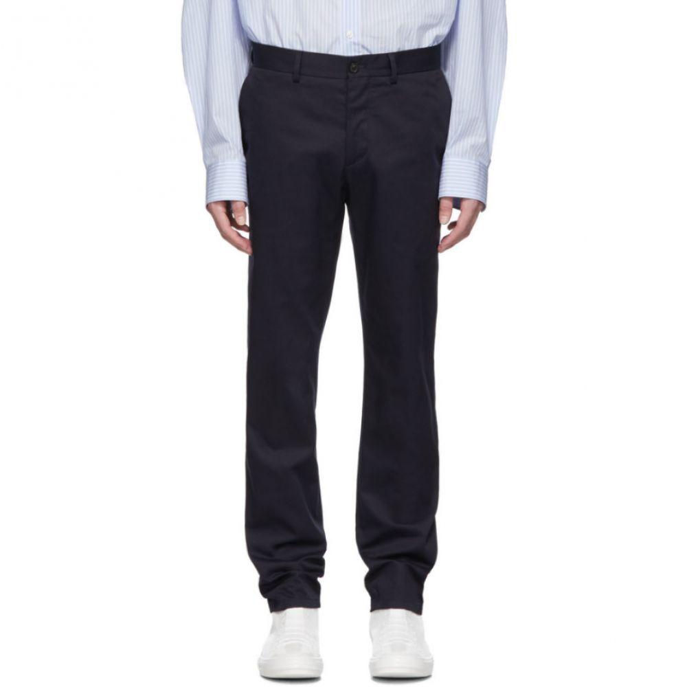 メゾン マルジェラ Maison Margiela メンズ ボトムス・パンツ【Navy Gabardine Workwear Trousers】