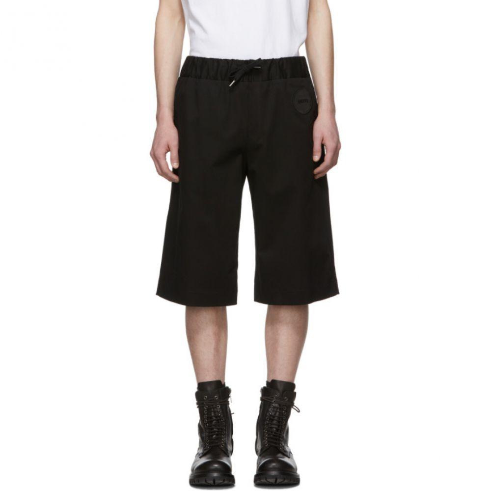 ヤンリ Yang Li メンズ ボトムス・パンツ ショートパンツ【Black Drawstring Shorts】
