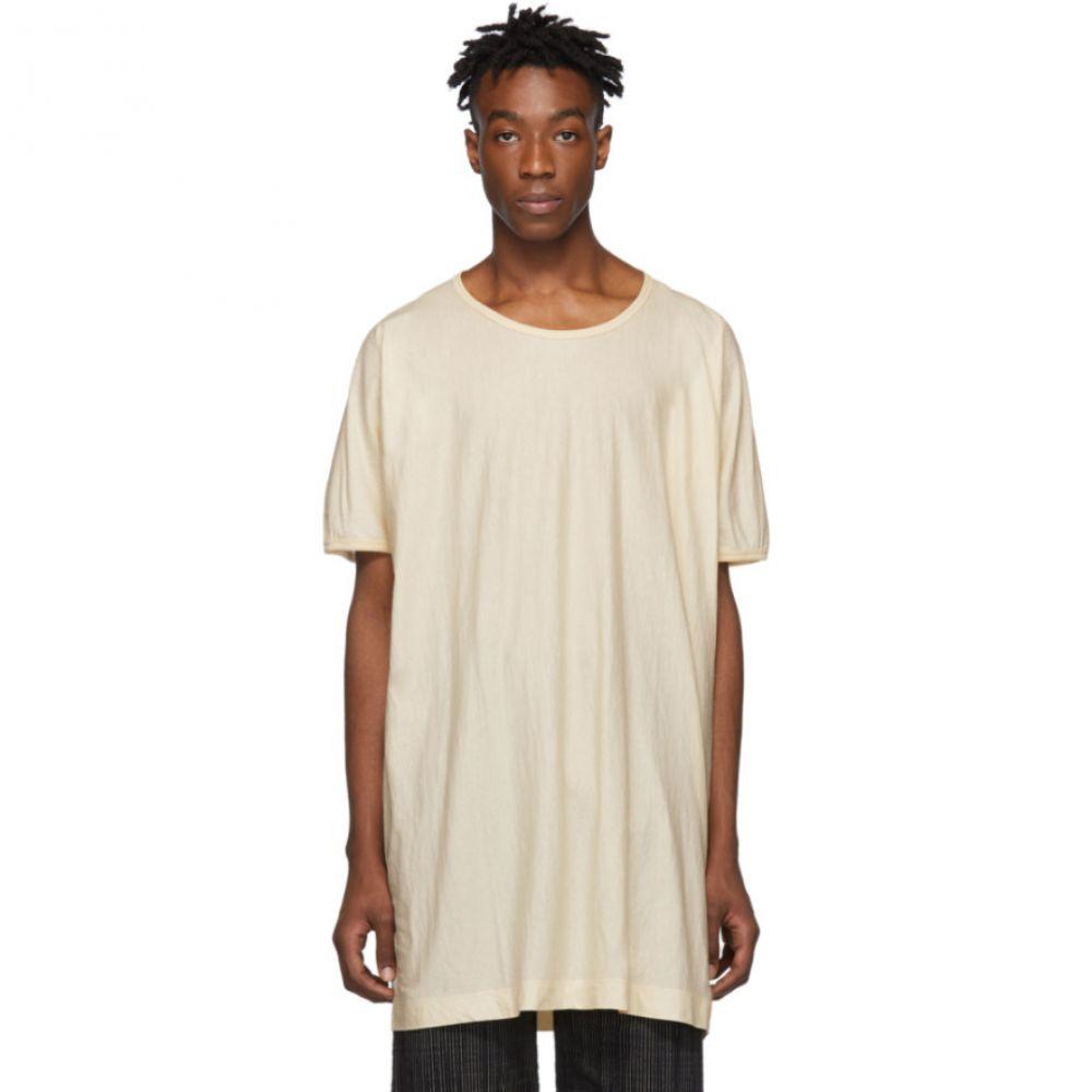 ヤン ヤン ヴァン エシュ Jan-Jan Van Essche メンズ トップス Tシャツ【Off-White Organic Cotton T-Shirt】