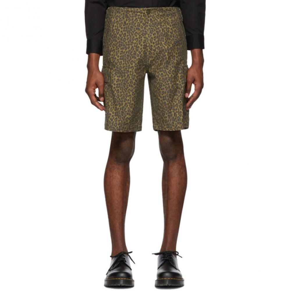 リーバイス Levi's メンズ ボトムス・パンツ ショートパンツ【Brown Cheetah Hi-Ball Roll Cargo Shorts】