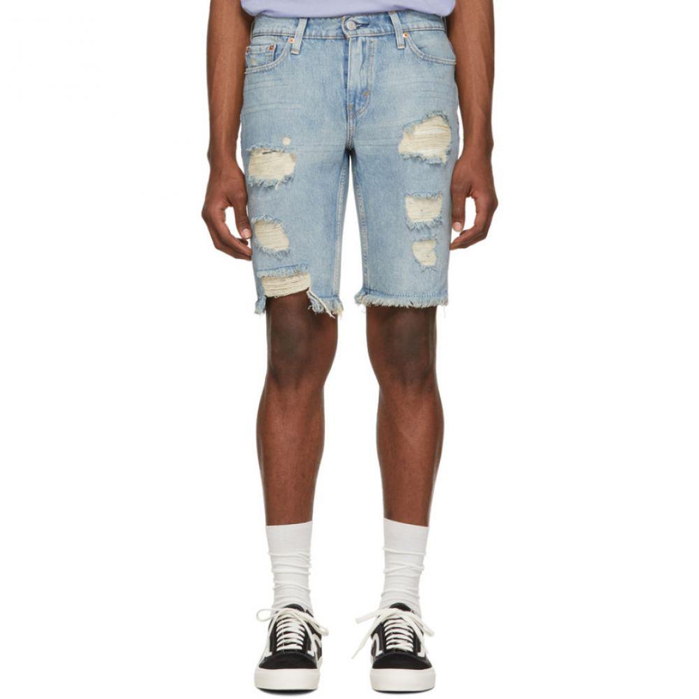 リーバイス Levi's メンズ ボトムス・パンツ ショートパンツ【Blue Denim 511 Slim Cut-Off Shorts】