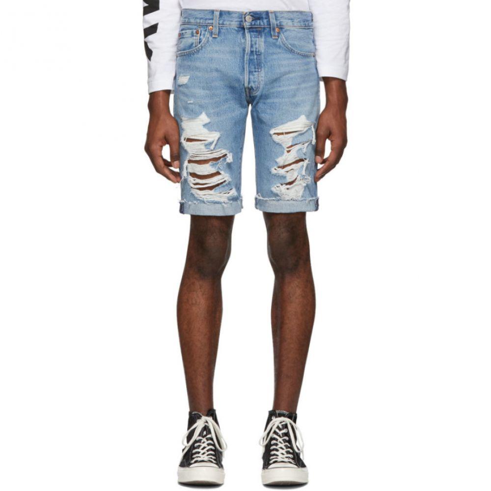 リーバイス Levi's メンズ ボトムス・パンツ ショートパンツ【Blue Denim 501 Original-Fit Cut-Off Shorts】