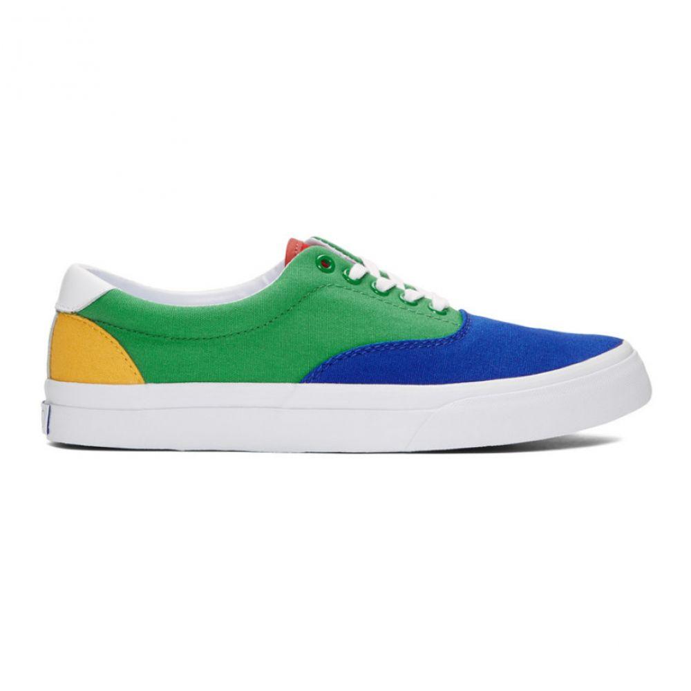 ラルフ ローレン Polo Ralph Lauren メンズ シューズ・靴 スニーカー【Green & Blue Thorton III Sneakers】