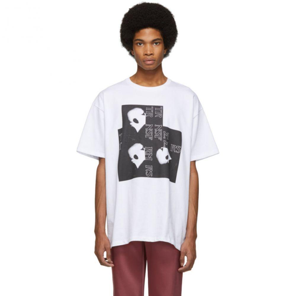ラフ シモンズ Raf Raf Simons メンズ トップス Tシャツ T-Shirt】【White Head Head T-Shirt】, ミリタリーショップWAIPER:329ec40e --- sunward.msk.ru