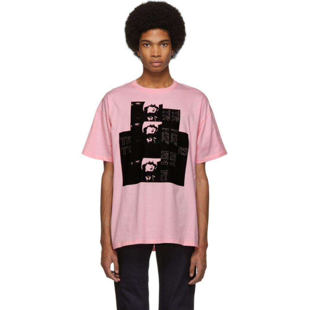 ラフ シモンズ Raf Simons Raf メンズ トップス Toya Tシャツ T-Shirt】【Pink Toya T-Shirt】, 国内発送:c2aa2425 --- sunward.msk.ru