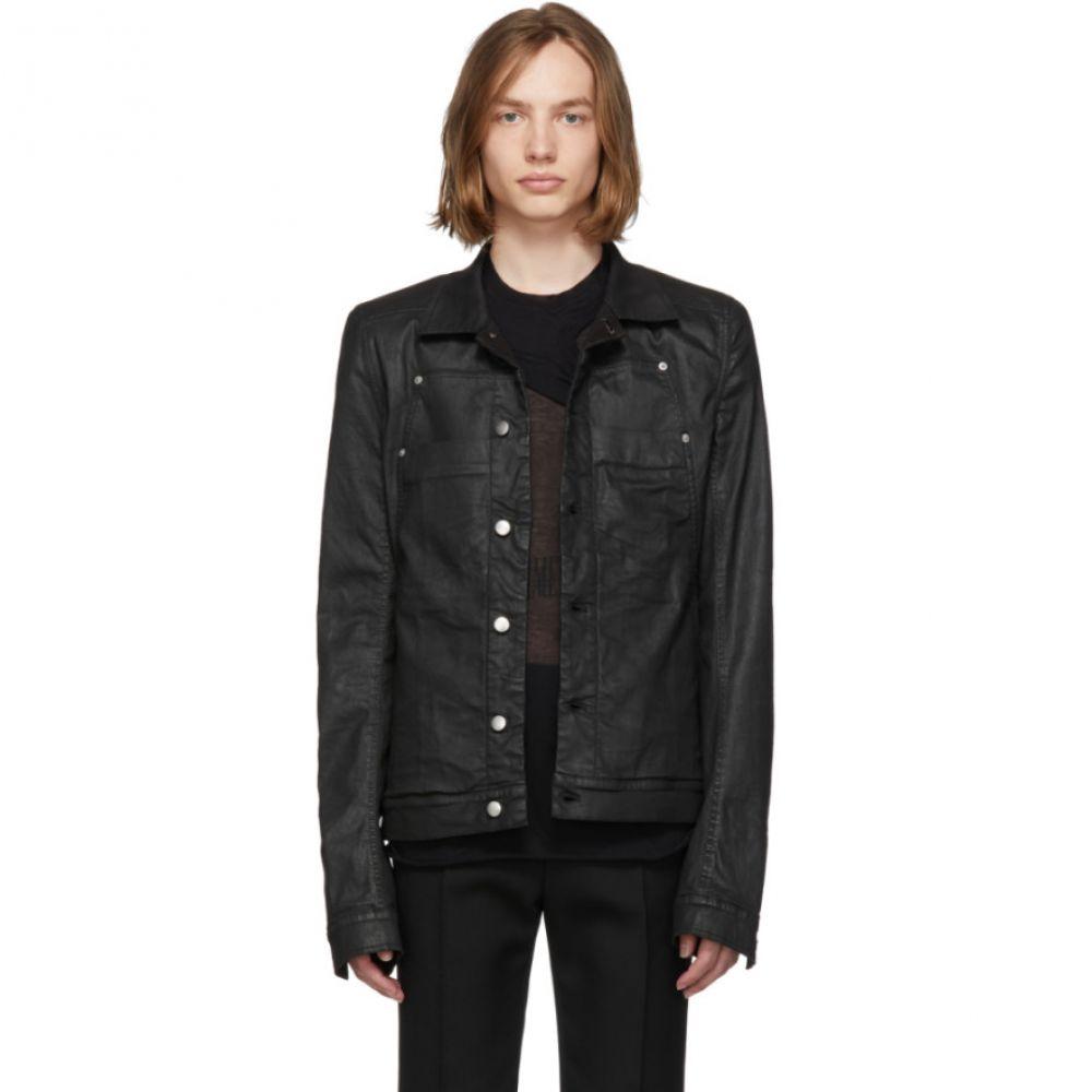 リック オウエンス Rick Owens メンズ アウター ジャケット【Black Denim Xtreme Lab Jacket】