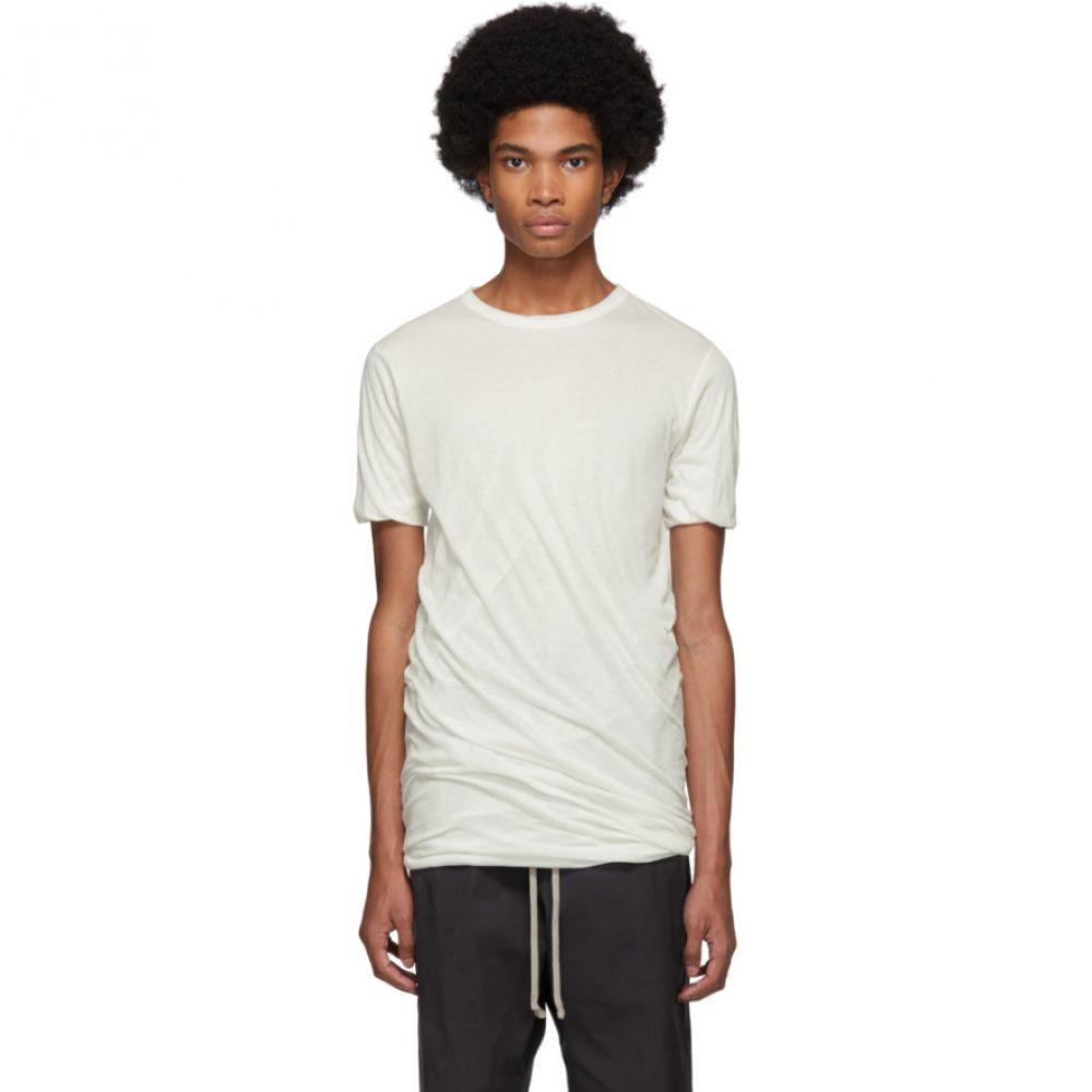リック Tシャツ【White メンズ オウエンス Rick T-Shirt】 Owens メンズ トップス Tシャツ【White Double T-Shirt】, シモカワチョウ:f03cae01 --- sunward.msk.ru