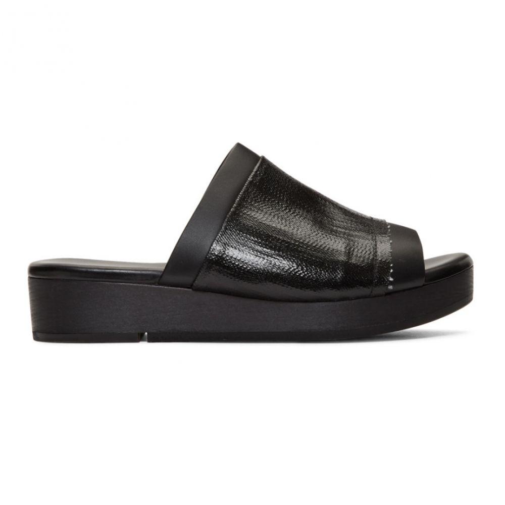 リック オウエンス Rick Clog Owens メンズ オウエンス シューズ・靴 リック サンダル【Black Island Clog Sandals】, 【再入荷】:ba9c2a1d --- sunward.msk.ru